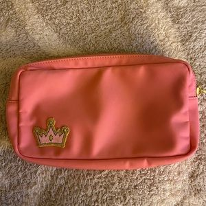 Stoney Clover Lane Guava Small Pouch with Crown